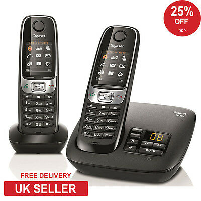 Siemens Gigaset C620A Twin DECT Cordless Phone - Answerphone