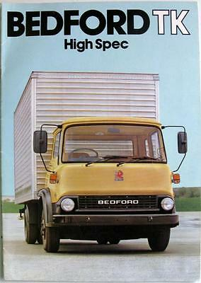 BEDFORD TK High Spec - Commercials Sales Brochure - Apr 1981 - B1944/4/81
