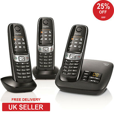 Siemens Gigaset C620A Trio DECT Cordless Phone - Answerphone