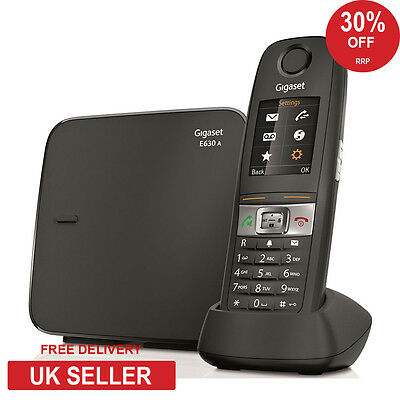 Siemens Gigaset E630A Robust DECT Cordless Phone - Answerphone