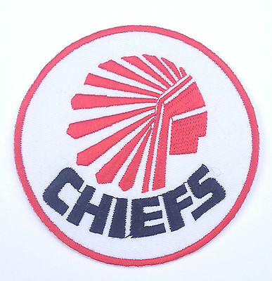 Atlanta Chiefs Soccer Patch Embroidered Iron on Badge NASL / NPSL 1967-1981 Rare