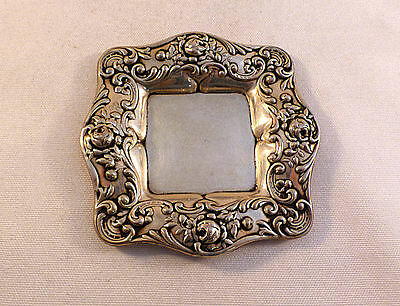 Fancy Small Sterling Square Gorham Tray(s)