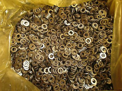 Metric Size 6mm Industrial Stainless Steel Flat Washer Qty. ( 200 )   W10