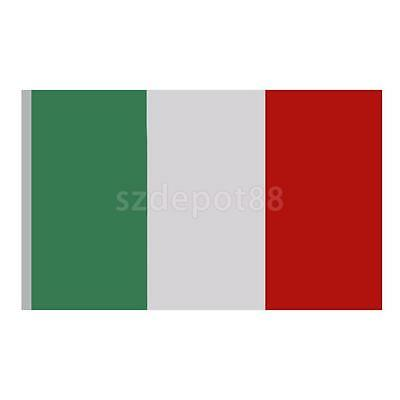 Large Italian Italy National Flag Outdoor Sports Fans Supporter 5ft x 3ft