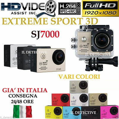 Pro Sport Action DV Camera SJ7000 Full HD 1080P Videocamera WiFi Impermeabile SJ