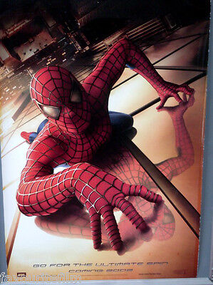 Cinema Poster: SPIDERMAN 2002 (Advance One Sheet) Tobey Maguire Kirsten Dunst