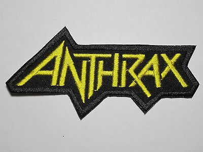 ANTHRAX logo embroidered NEW patch thrash metal