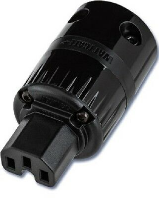 WATTGATE™ 320 EVO GLOSSY BLACK IEC power connector
