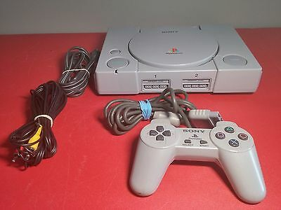 PS1 Playstation 1 Fat Console w/ controller & cables - Tested & Working (NTSC)