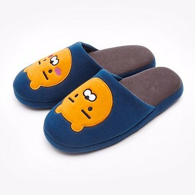 [KAKAO FRIENDS] Kakao Talk Character RYAN Applique Home Slippers +Tracking