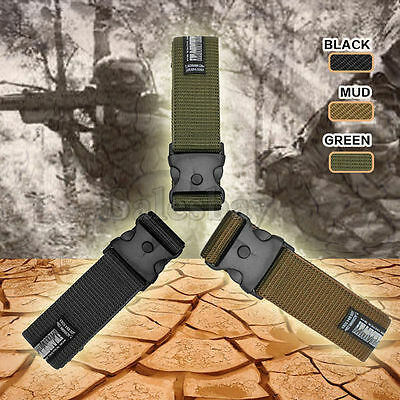 Tactical Hunting Survival Heavy Duty Army Elite Military New Duty Belt Security