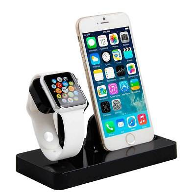 Desktop Charging Docking Station Charger Holder Stand for Apple iWatch iPhone