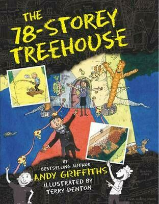 The 78-Storey Treehouse by Andy Griffiths Hardcover Book