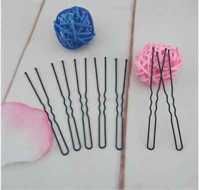 5cm/6cm/7cm 20PCS Metal U Shape Bobby Pins Pin / Hair Clip for Set Up Bun BLACK