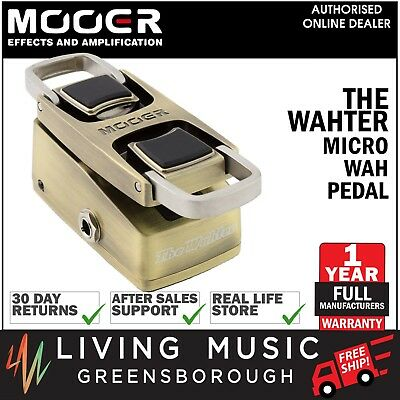 NEW Mooer The Wahter Wah Guitar Effects Pedal True Bypass FREE SHIP