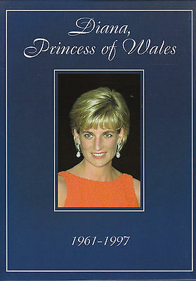 Diana,  Princess of Wales  1961-1997   (Gift Pack Postcards)