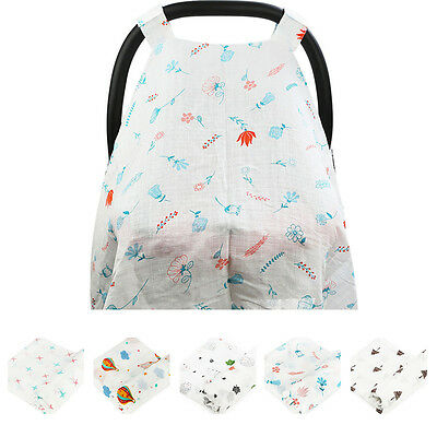 Baby Infant Stroller Pram Car Seat Cover Breathable Cotton Sun Shade Canopy New