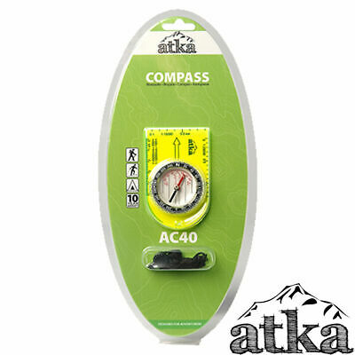 ATKA AC40 Compass Travel Hiking Camping Compass