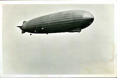 Germany 1930 Airship Graf Zeppelin Over Reichenbach Rppc Vg Unused