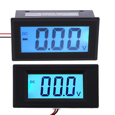 DC 7-20V/7-30V LCD Two-wire System Digital Panel Meter Voltage Voltmeter New