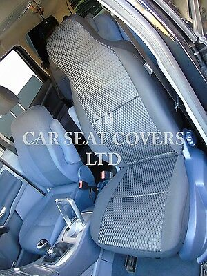 To Fit A Mitsubishi Outlander, Car Seat Covers, Anthracite Sports Iii