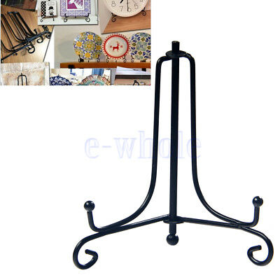 """4"""" Display Easel Stand Durable Plate Bowl Photo Holder Christmas Home Décor TW"""