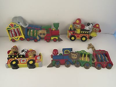 Vintage Child Kid Bedroom Decor Animal Train Fire Truck Circus Wall Hanging Toy