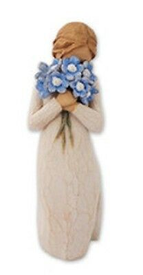 Willow Tree Collection - Forget me not 26454 By Susan Lordi By Demdaco