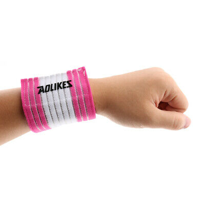Sport Gym Tennis Wrist Support Wrap Protector Band Bandage Compression Wristband