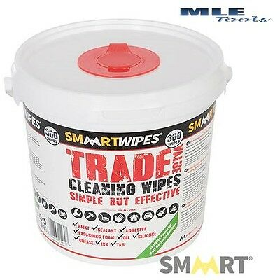 #845797 Smaart Trade Value Cleaning Wipes 300pk home workshop garden degreaser