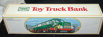 1984 Hess Fuel Oil Tanker Toy Truck Bank MINT NEW IN BOX - FREE SHIPPING [S6552]