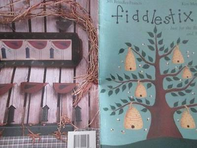 Fiddlestix Just For the Birds & Bees Painting Book -Jeri Brindley-Francis & Kim