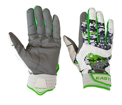 Easton Stealth Core Youth Batting Gloves - Small Digital Camo/Green - NEW