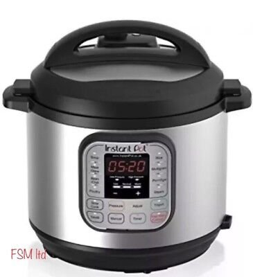 Instant Pot Duo 7-in-1 Multifunctional Electric Pressure Cooker, 6 Litre
