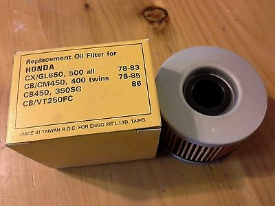 Nos- Emgo Oil Filter Replaces Honda 15412-413-000, 005 Freeshipcanus