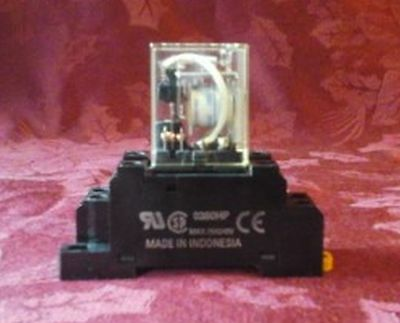 Omron Cube Relay LY 2 10A 110VAC With Base