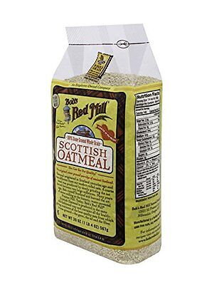 Bobs Red Mill Oatmeal Scottish, 20-Ounce Pack of 4