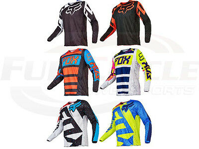 Fox Racing 180 Youth Race Falcon Nirv Jersey Kid's Pee Wee MX/ATV Dirt Bike '17