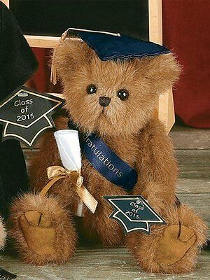 Smarty Graduation Teddy Bear Plush Gift - Class of 2015