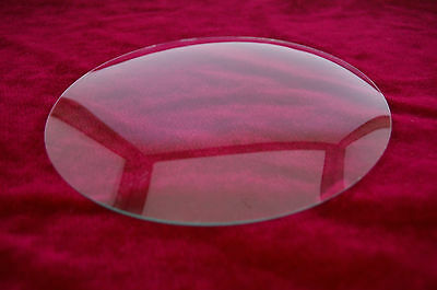 New Round Convex  Glass 136mm Clock Replacement Glass Antique Clock Parts