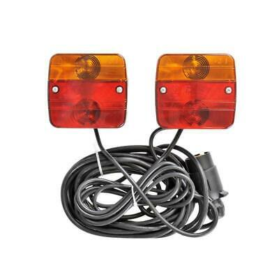 Rear Lights Set with Magnet Rear Light 7 Pin Pendant Tractor Truck