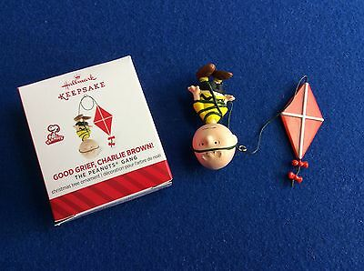 The Peanuts Gang:Good Grief, Charlie Brown: Hallmark Keepsake Christmas ornament