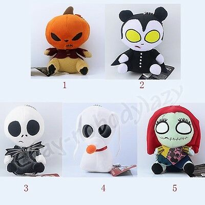Cool ! The Nightmare Before Christmas 11-14cm Soft Plush Stuffed Doll Toy Loose