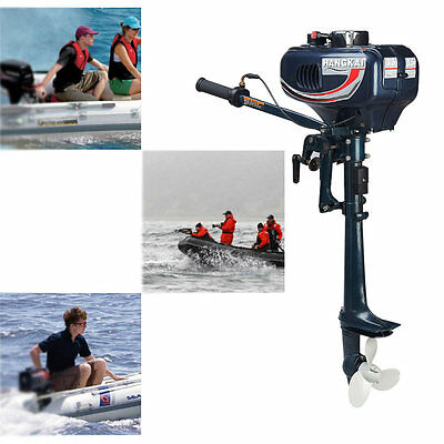 3.5HP 2.5kw 2-Stroke Outboard Motor Fishing Boat Sail boats Engine CDI system BS