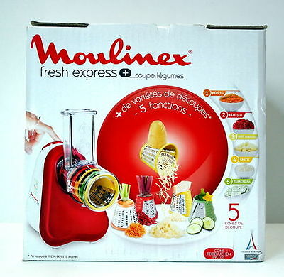 Moulinex Fresh Express Plus, DJ756G, Schnitzelwerk