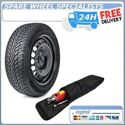 "Dacia Duster 2010-2019 Full Size Steel Spare Wheel 16""  And Tyre + Tool Kit"