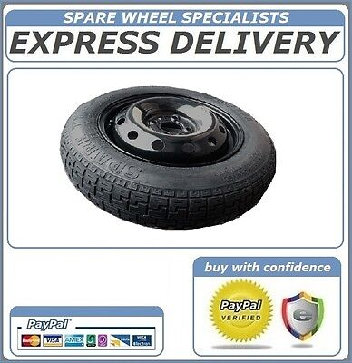 "FIAT PANDA SPACE SAVER SPARE WHEEL 14""       Ref:89"