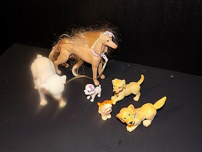 Barbie  Dogs Pets Figures  Toys lot  some hard to find animals