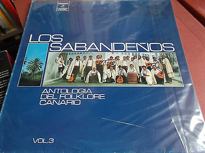 Los Sabandenos: Antologia Del Folklore Canario Vol.3: Vinyl Lp Made In Spain