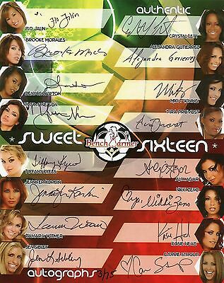 2006 Benchwarmer World Cup Soccer Sweet Sixteen Case Topper Autograph # 3/75